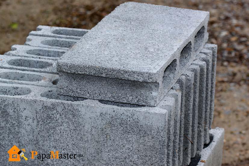 цементно песчаные блоки размеры