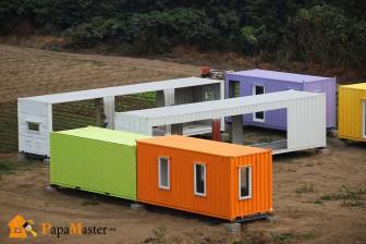 общей дом из контейнеров 6 метровый первых