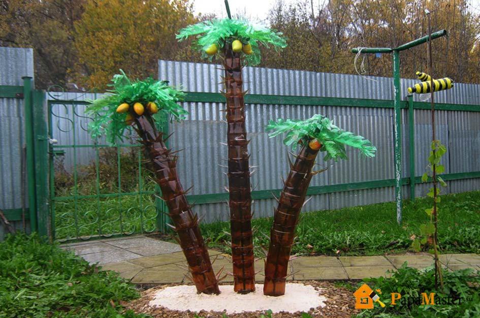 Как сделать пальму из полторашек фото 846