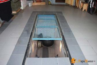 Стандартные размеры смотровой ямы в гараже