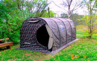Палатка баня походная