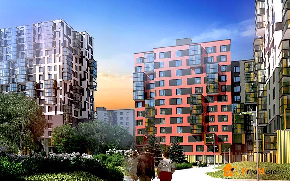 Красивые фасады многоэтажных домов фото фото можно