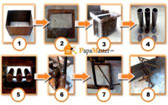Изготовление строительных блоков своими руками