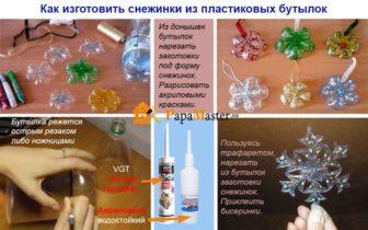 Идеи праздничных подарков своими руками. Новогодняя игрушка из пластиковой бутылки || Игрушки на елку из пластиковых бутылок